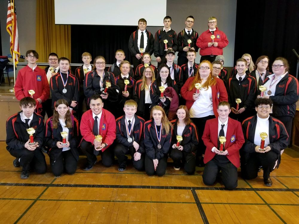 32 Herkimer BOCES SkillsUSA students win awards at Regional Conference
