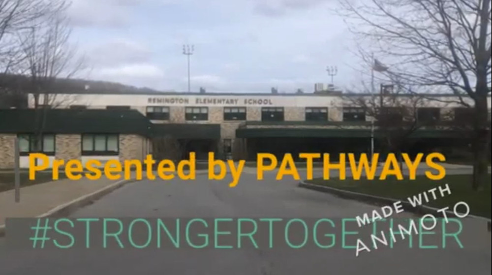 A video from Pathways Academy staff to students
