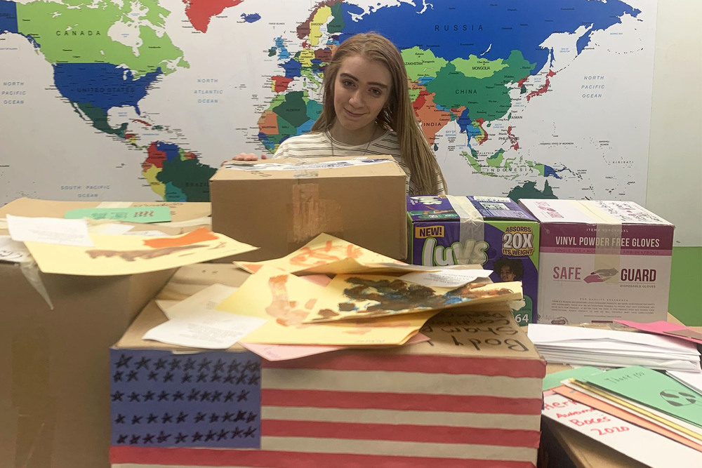 Herkimer BOCES VP-TECH student's fundraiser supports military members, veterans