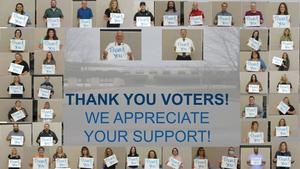 Pathways Academy says thank you to voters