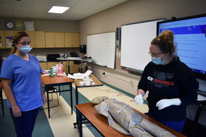Herkimer BOCES adult nursing students return to Remington school building ahead of Sept. 29 building vote