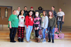 Herkimer BOCES Pathways Academy Student Council organizes fundraiser for Central Valley 10-year-old with sarcoma cancer